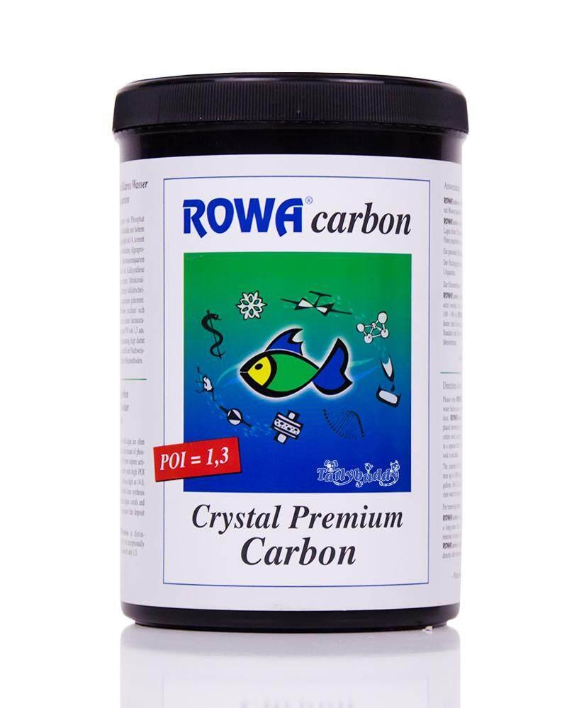 500g - Rowa Carbon คาร์บอนเม็ด ดูดซับสารอินทรีย์ในตู้ปลา ทำให้น้ำใส ใช้ได้ทั้งตู้น้ำจืดและตู้ทะเล