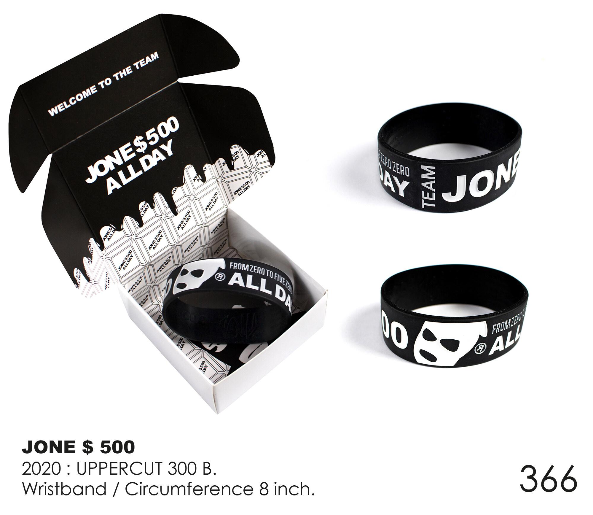 Dr.street Wristband Jone500 Home Run Project 2019-2020.