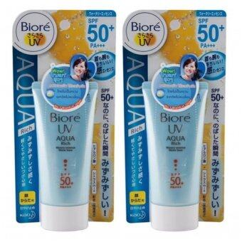 Biore UV Aqua Rich Watery Essence SPF50+ PA+++ 50g. (แพ็คคู่)