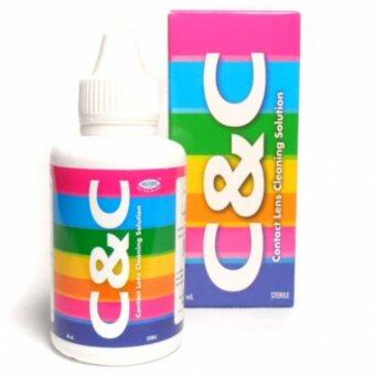 C&C contact lens cleaning solution 60ml.