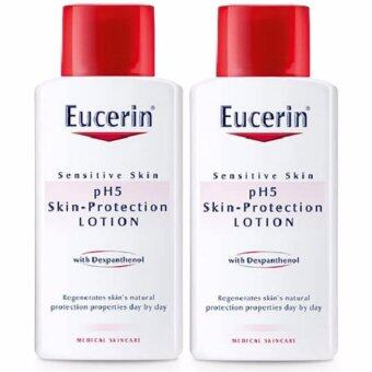 Harga Eucerin Sensitive Skin pH5 Skin-Protection Lotion 250 ml x 2ขวด