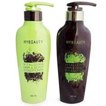 Harga Hybeauty Vitalizing Hair & Scalp Conditioner + shampoo