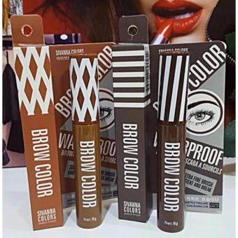 Harga Sivanna Mascara eyebrown water proof (03) Dark brown มาสคาร่าเขียนคิ้ว