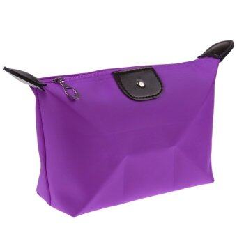 Harga PAlight Women Makeup Pouch Cosmetic Bag (Purple)