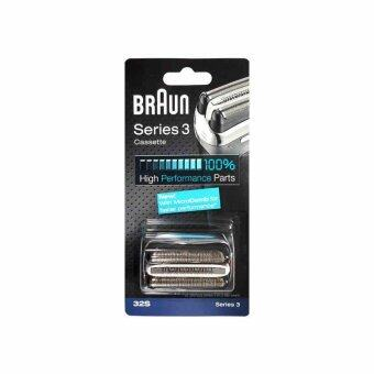 Harga Braun 32S Series 3 Shaver Foil and Cutter Head Replacement Cassette with Microcomb(320 330 340 350CC 360 370 380 390CC) - intl