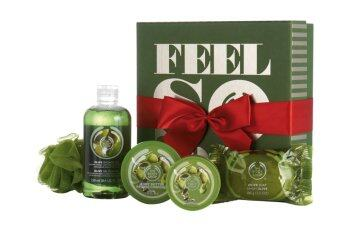 Harga THE BODY SHOP ชุดของขวัญ OLIVE FESTIVE PICKS