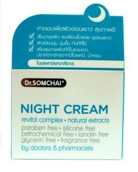 Harga Dr. Somchai Night Cream