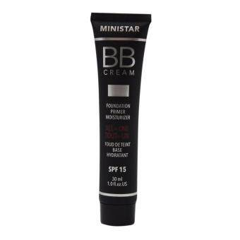 Harga MINISTAR BB Cream all in one No 101 - Foundation, Primer and Moisturizer 30 ml.