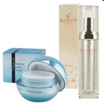 Harga Hylife Hybeauty abalone Beauty Cream + Aura Pure Essence 30ml.