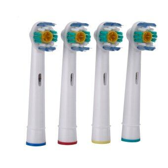 Harga 4pcs Soft Bristles EB-18A Rotary Electric Toothbrush Heads Replacement Oral Hygiene for Braun Oral-B