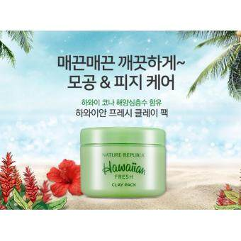 Harga Nature Republic Hawaiian Fresh Clay Pack 95ml. โคลนมาส์กหน้า