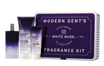 Harga THE BODY SHOP ชุดของขวัญ MODERN GENT'S WHITE MUSK FRAGRANCE KIT