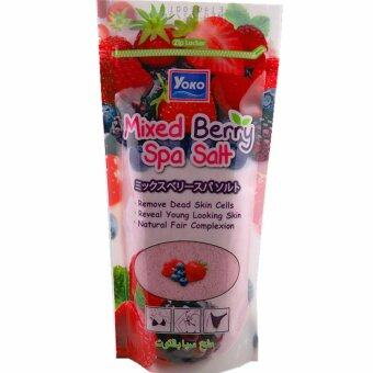 Harga Yoko Mixed Berry Spa Salt 300g
