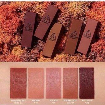 Harga ลิปแมท 3ce mood recipe lip color mini kit