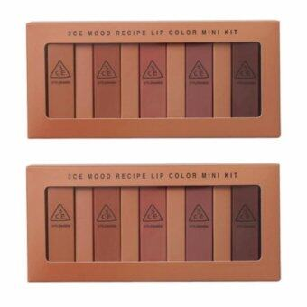 Harga 3CE MOOD RECIPE LIP COLOR MINI KIT (2กล่อง)