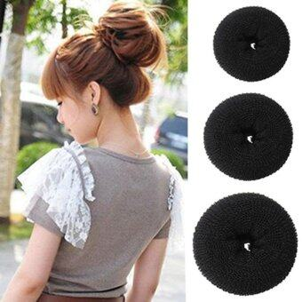 Harga JOY Donut Bun Ring Roll Scrunchie - Intl