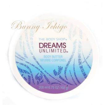 Harga The Body Shop Dreams Unlimited Body Butter 200 ml.