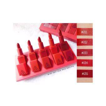 Harga 3CE red Recipe Mini Kit (1เซ็ท)