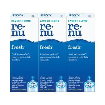 Harga Bausch & Lomb Renu Fresh Contact Lens Solution