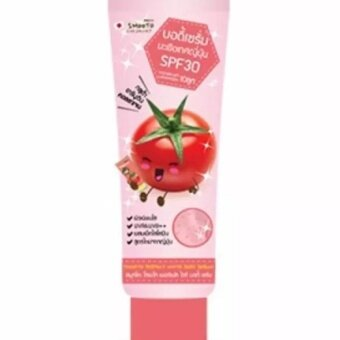 Harga Smooto Tomato Perfect White Body Serum SPF30 100 ml .