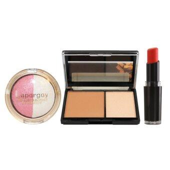 Harga Wet N Wild Lipstick #970 + Highlighter + Eye & Blush Set (Pink)