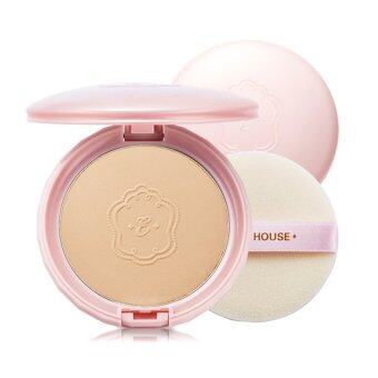 Harga Etude House Precious Mineral BB Compact BF SPF30 Honey #W13 natural beige เหมาะกับผิวขาวเหลือง