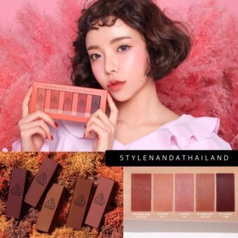 Harga 3CE MOOD RECIPE LIP COLOR MINI KIT