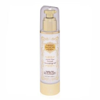 Harga Secret me Aura You Facial Cleaning Gel (Gold/White)