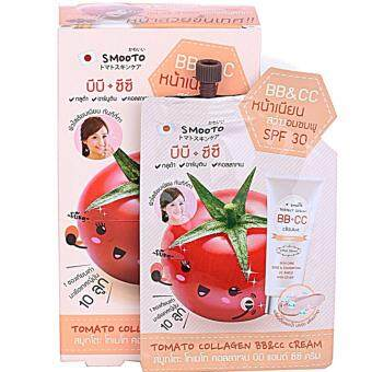 Harga Smooto Tomato Collagen BB&CC Cream