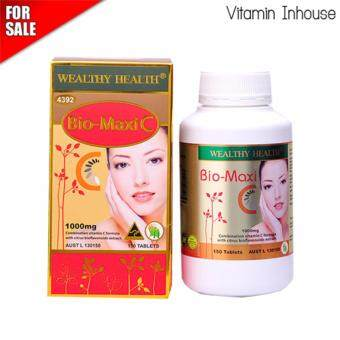 Harga Wealthy Health Bio-Maxi C 1000mg. Vitamin C