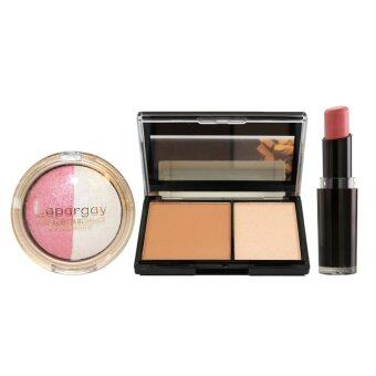 Harga Wet N Wild Lipstick #903 + Highlighter + Eye & Blush Set (Pink)