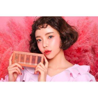 Harga 3CE MOOD RECIPE LIP COLOR MINI KIT (5x1.3g.)-Warm tone