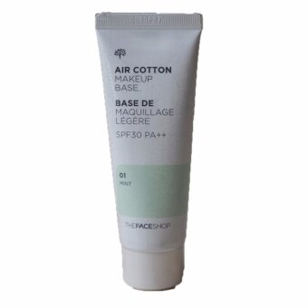 Harga The Face Shop Air Cotton Makeup Base SPF30 PA++เบสเขียว