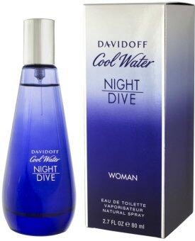 Harga Davidoff Cool Water Night Dive for Women EDT 80 ml.