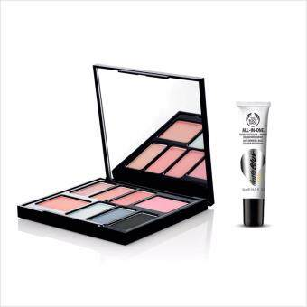 Harga THE BODY SHOP เซ็ต BRITISH ROSE EYE & CHEEK PALETTE และ ALL-IN-ONE INSTABLUR EYE ขนาด 10 ml