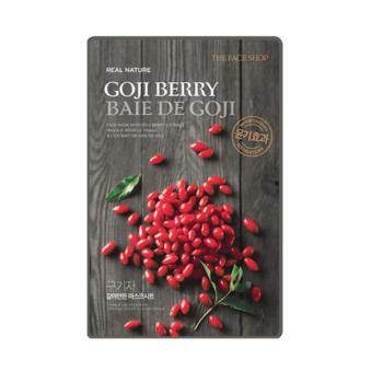 Harga THEFACESHOP REAL NATURE GOJI BERRY FACE MASK