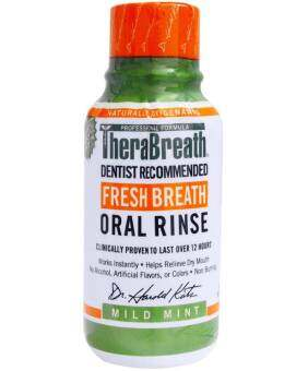 Harga TheraBreath Fresh Breath Oral Rinse Mild Mint Flavor