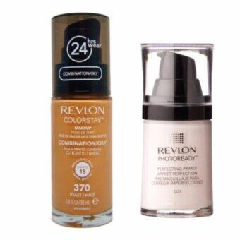 Harga Revlon Color Stay # 370 Toast +Revlon Photoready Perfecting Primer#001