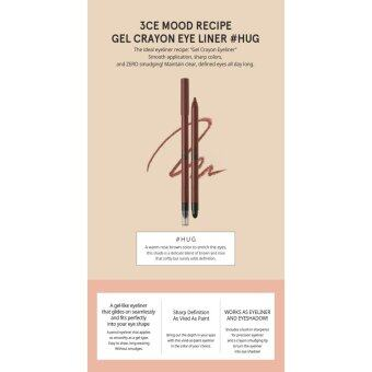 Harga 3CE MOOD RECIPE GEL CRAYON EYE LINER #HUG (0.4g)