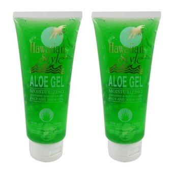Harga HAWAIIAN STYLE ALOE GEL 200 ml * 2