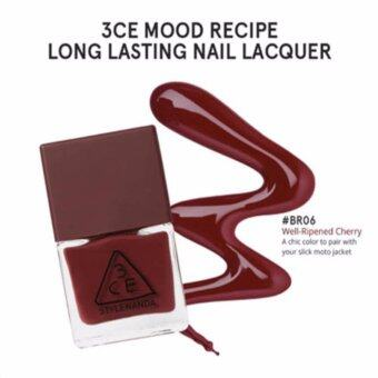 Harga ยาทาเล็บ 3CE MOOD RECIPE LONG LASTING NAIL LACQUER #BR06