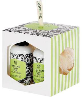 Harga เดอะบอดี้ ช็อป THE BODY SHOP ITALIAN SUMMER FIG MINI GIFT CUBE