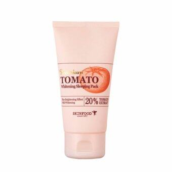 Harga SKINFOOD Premium Tomato Whitening Sleeping Pack 100ml
