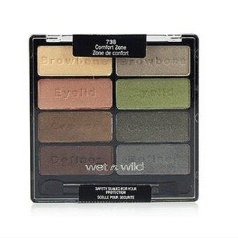 Harga Wet n Wild Coloricon Eyeshadow Collection #Comfort Zone-738