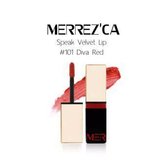 Harga MERREZCA Lip Speak Velvet #101 DNA Red