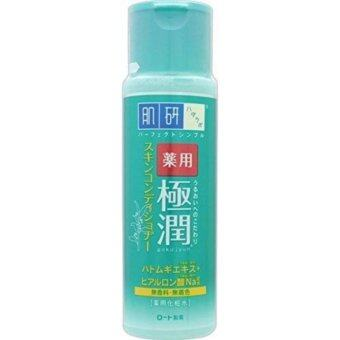 Harga Hada Labo Gokujyun Medicated Skin Conditioner Skin Lotion สูตรผิวมัน 170ml.