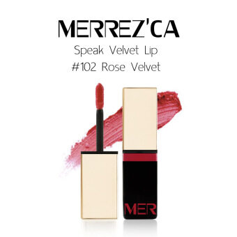 Harga Merrez'Ca Speak Velvet Lip #102 Rose Velvet