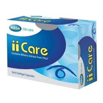 Harga Mega We Care II Care Bilberry Extract 30เม็ด