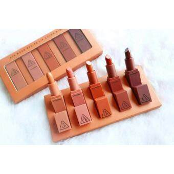 Harga 3CE MOOD RECIPE LIP COLOR Mini Kit เซต5สี