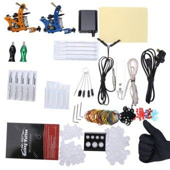 Harga Solong Complete Tattoo Kit Power Supply 2 Top Machine Guns - intl